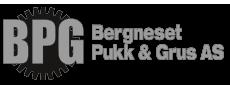 Bergneset Pukk og Grus AS Logo